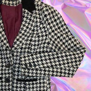 🔆5/$60🔆 Houndstooth Blazer Coat Office Business